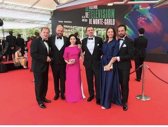 Česká delegace v Monte Carlu