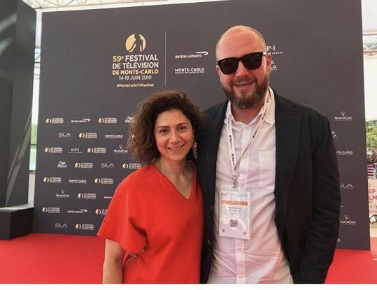 Herečka s partnerem Davidem Ondříčkem