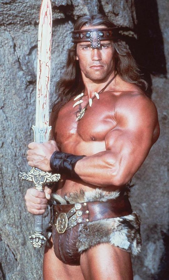 Barbar Conan v podání Arnolda Schwarzeneggera