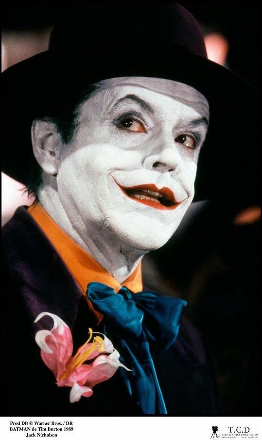 Jacku Nicholsonovi padla role Jokera jako ulitá.