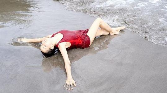 Khousnoutdinová se pochlubila i touhle sexy fotkou.