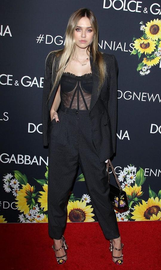 Na nedávné přehlídce Dolce & Gabbana