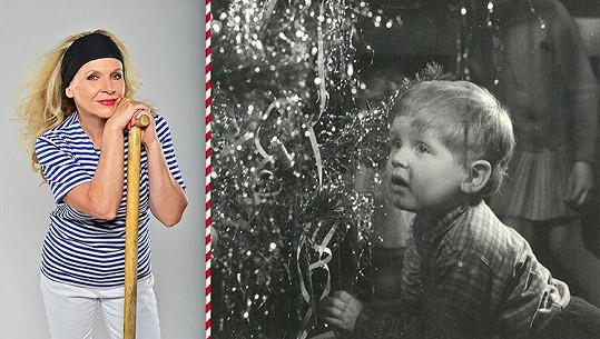 Olga Želenská vypadala jako chlapeček.