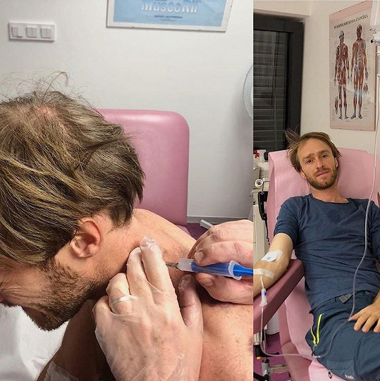 Vágner musel opět do nemocnice.
