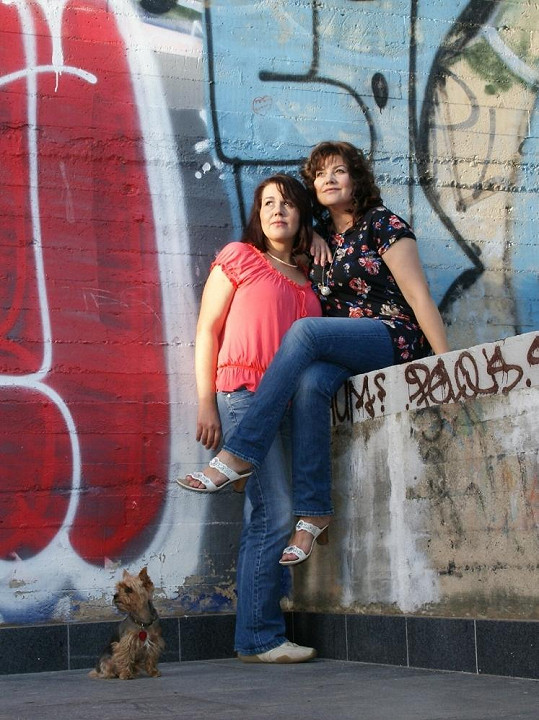 Ilonu Csákovou a její sestru Veroniku dělí věkový rozdíl deseti let.