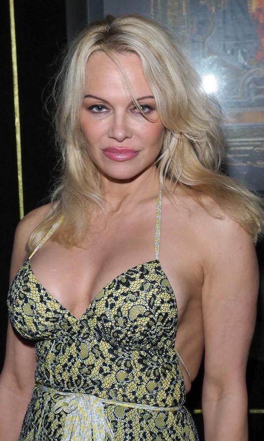 Pamela Anderson je na své silikony hrdá.