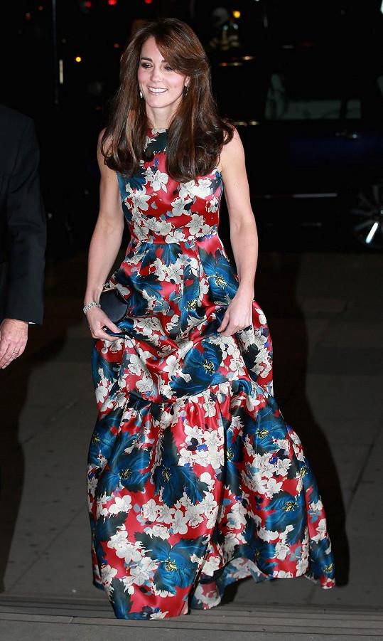 Vévodkyně z Cambridge byla opět nádherná.