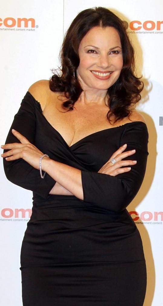 Fran Drescher v Cannes.