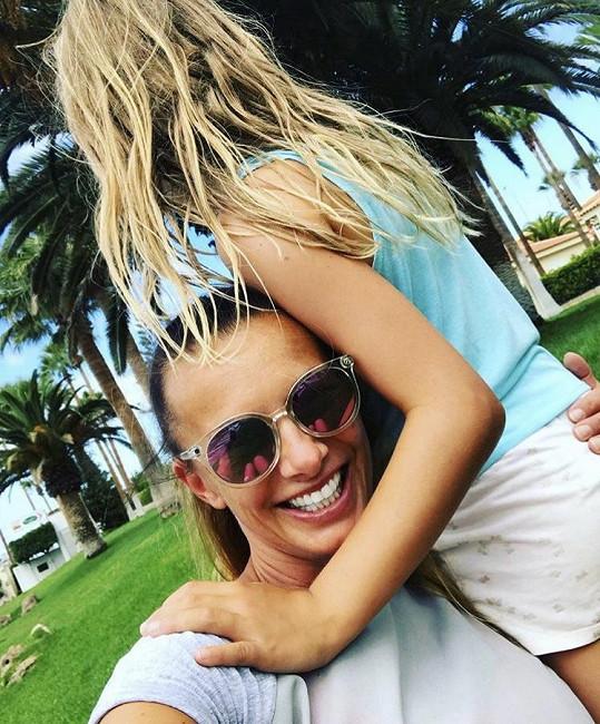 S dcerou Aličkou