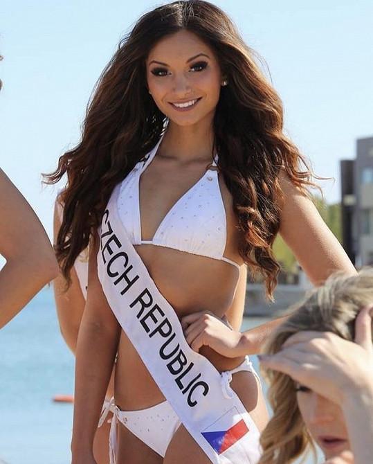 Sarah Karolyiová zabodovala na světové soutěži Miss Intercontinental.