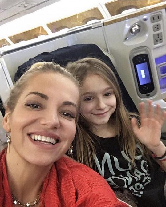 Dara s dcerkou