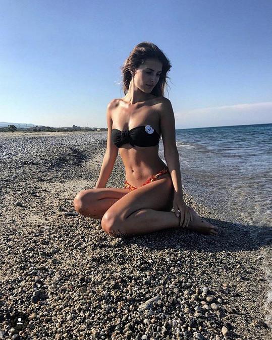 Veronika Volkeová na soustředění Miss Face v Itálii
