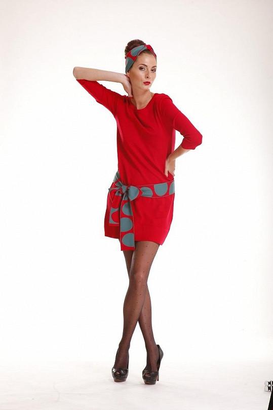 Tereza je tváří nové kolekce návrhářky Beaty Rajské.