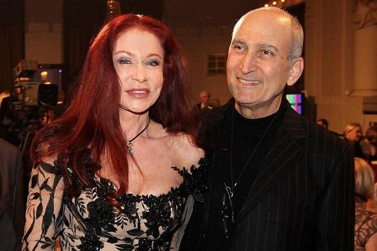 Blanka Matragi s manželem.