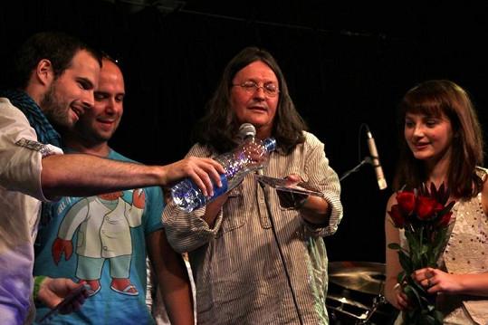 Jan Maxián, Franta Soukup a Ivan Hlas pokřtili debutové album Patricie Fuxové.