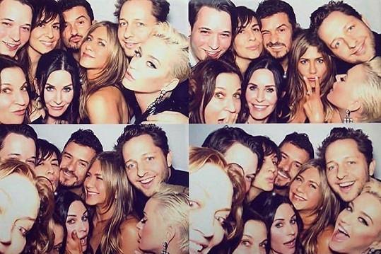 Padesátku Jennifer Aniston oslavila řádně.