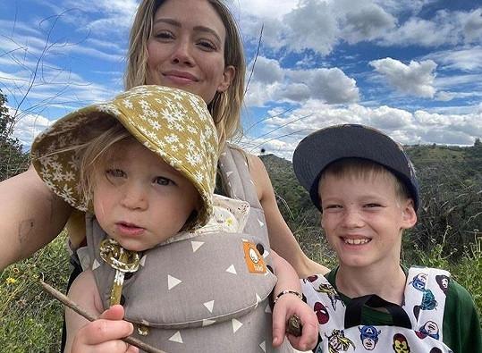 Hilary a její dětičky