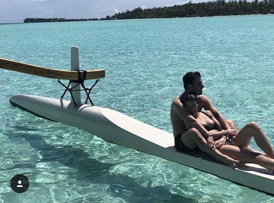 Na dovolené s Leošem Marešem na Bora Bora