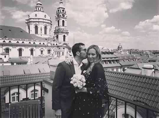 Radek Štěpánek a Nicole Vaidišová se brali podruhé.