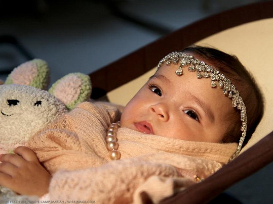 Orientální princezna Monroe.