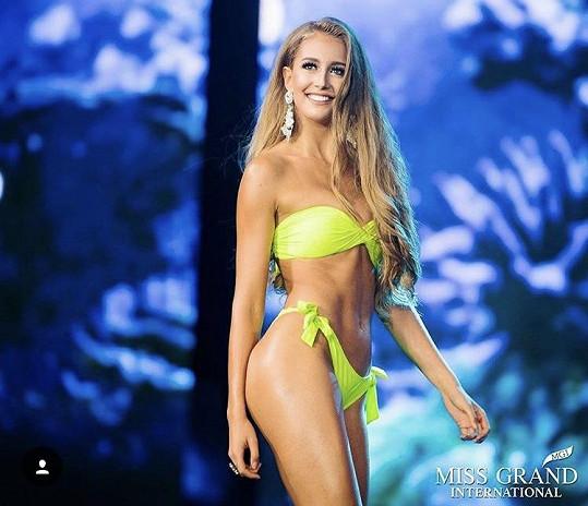 Nikola Uhlířová zabodovala na světové soutěži krásy.
