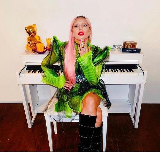 Lady Gaga je uprostřed proma nového alba Chromatica.