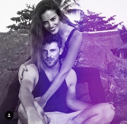 Zuzana Jandová s bývalým přítelem Tomášem Fajou