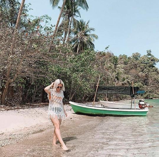 Vybrala si ostrov Koh Chang.