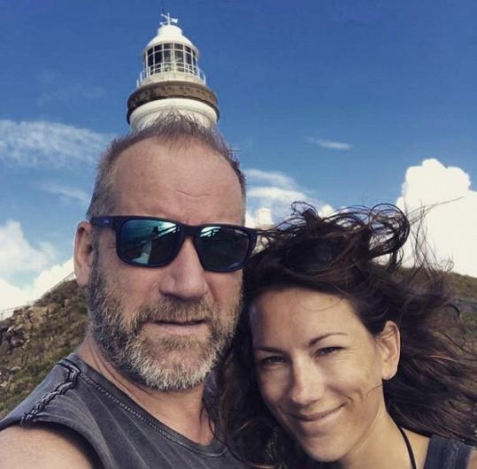David Koller se svou láskou Annou