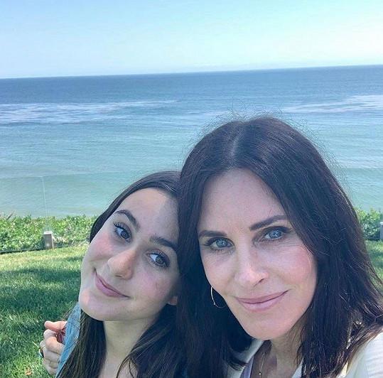 Courteney Cox s dcerou Coco