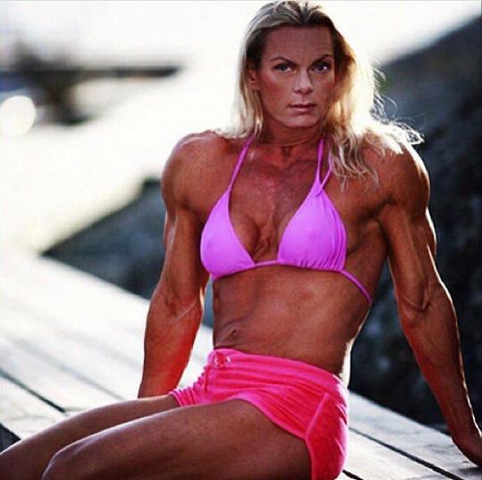 Eva Birath začala s bodybuildingem před 22 lety.