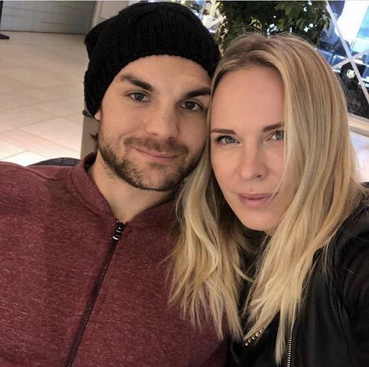 Diana žije s hokejistou Michaelem Frolíkem.