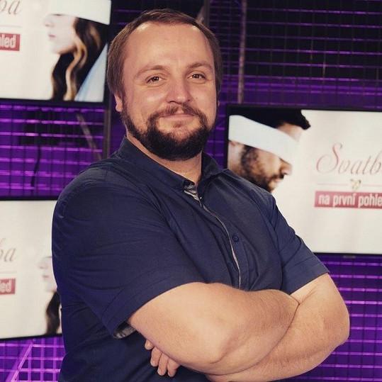 Radek Stöber si nechal narůst vousy a prokoukl.