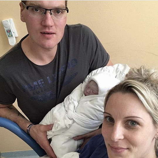 Katka Brzobohatá se dočkala syna.