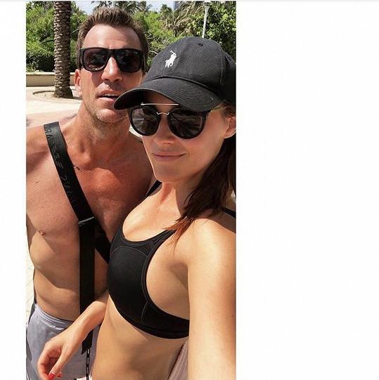 Kateřina s přítelem Pavlem