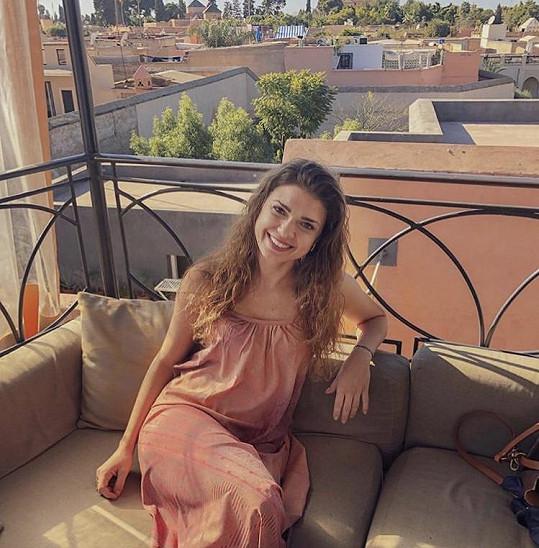Líbil se jí hlavně výhled ze střešních teras, kde jsou restaurace.