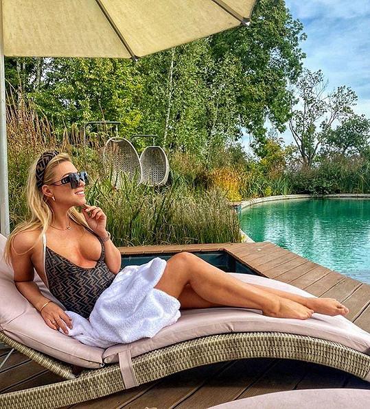 Dominika Myslivcová předvedla své sexy tělo.