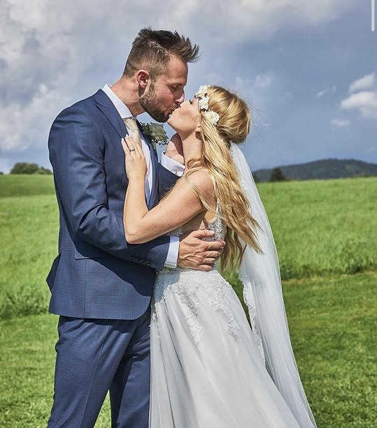 Manželé Milan Benda a Tereza Benda Hudecová
