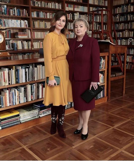 První dáma Ivana Zemanová s dcerou v modelech od Ponerů.