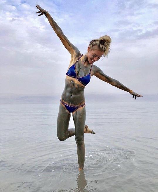 Veronika Kopřivová vyrazila k Mrtvému moři.