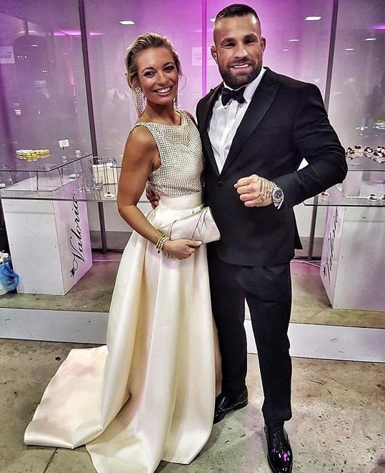 Lucie s hvězdou MMA Karlosem Terminátorem Vémolou.