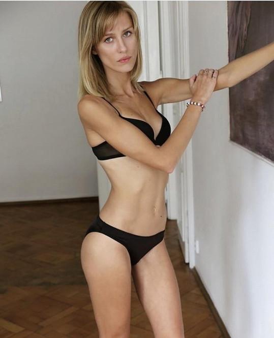 Barbora Mudrochová je úspěšnou modelkou.