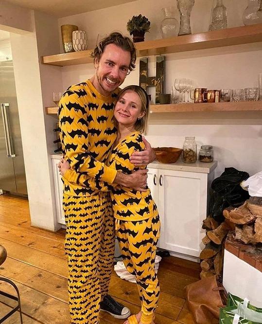 S manželkou Kristen Bell