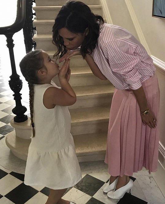 Victoria s dcerkou Harper