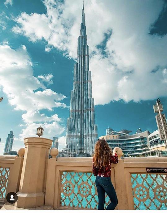 Ale byla se podívat i na nejvyšší stavbu světa Burj Khalífa.