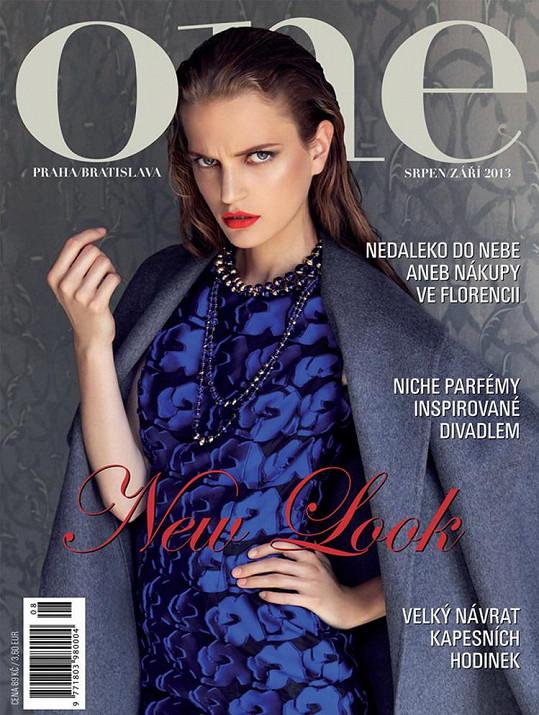 Magdalena výjimečně na obálce českého magazínu