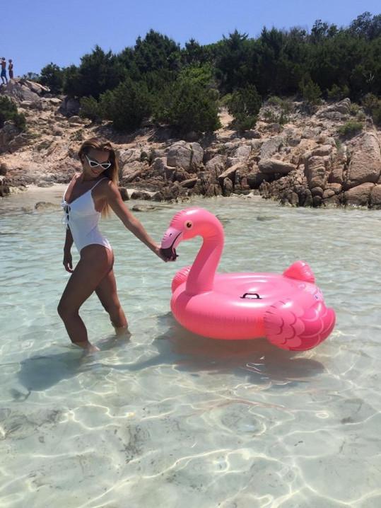 V průzračném moři na Sardinii