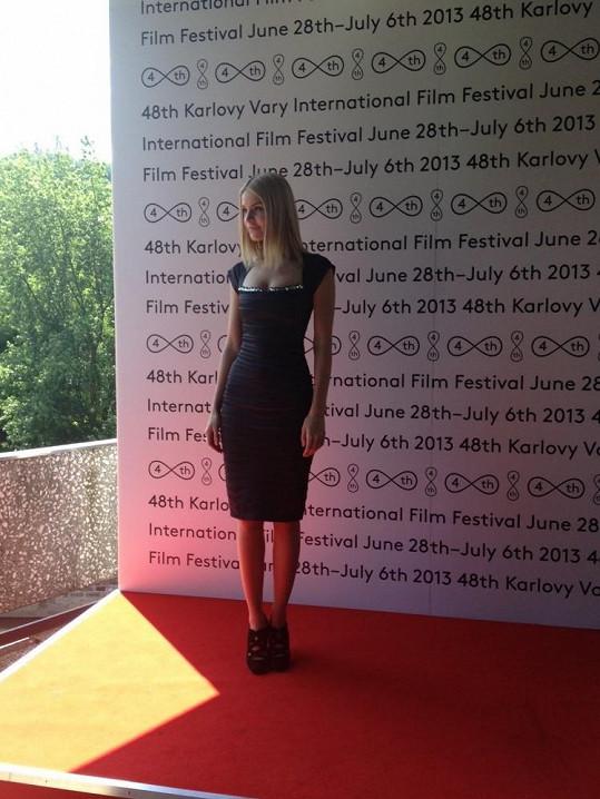 Maria Birta přijela s delegací k filmu XL.
