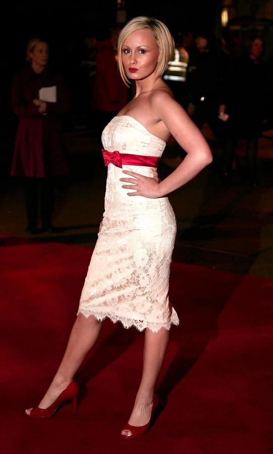 Chanelle Hayes v roce 2007, kdy vstoupila do světa britských osobnostní díky účasti v Big Brotherovi.