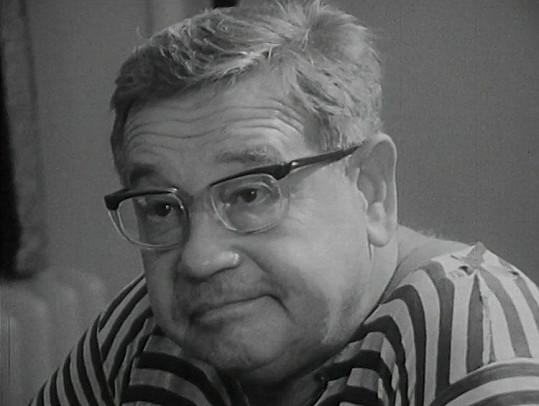 Josef Hlinomaz byl mezi diváky velmi populární.
